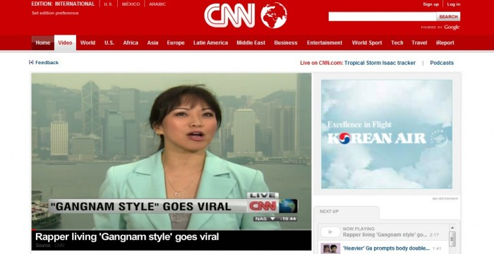 "Top 5 U.S. Media Coverage of PSY's ""Gangnam Style"""