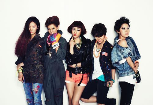 Girl Group GLAM in Men's Health Pictorial