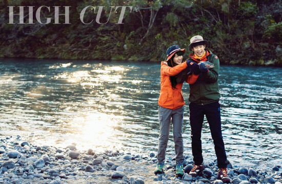 "Kim Soo Hyun and miss A's Suzy Reunite in a Romantic Photoshoot for ""High Cut"""