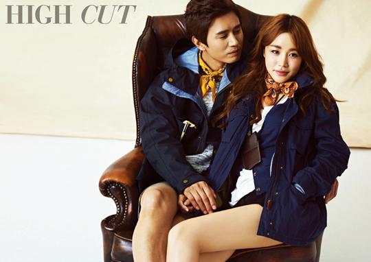 Kim Min Jong and Yoon Ji Ni for High Cut