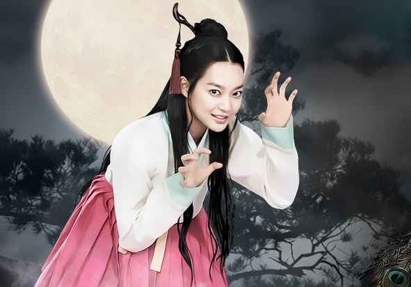 "Shin Min Ah Dolls Up for ""Arang and the Magistrate"""