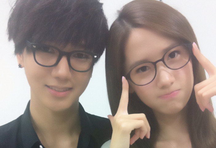 Super Junior's Yesung and Girls' Generation's YoonA Look Dorky and Cute Together