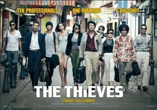 """The Thieves"" Surpasses ""Taekukgi"" to Become Third Highest Korean Film in History"