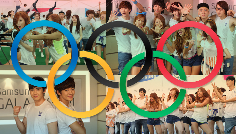 K-Pop Stars Root for the Olympic Team with Cheer Songs!