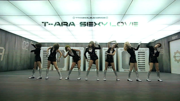 "T-ara Releases Robot Dance Ver. MV for ""Sexy Love"""