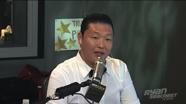 "PSY Talks About ""Gangnam Style"" in Recent Interview With Ryan Seacrest"