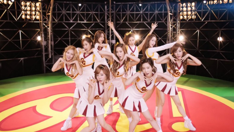 "Girls' Generation Releases Music Video for New Japanese Single ""Oh!"""