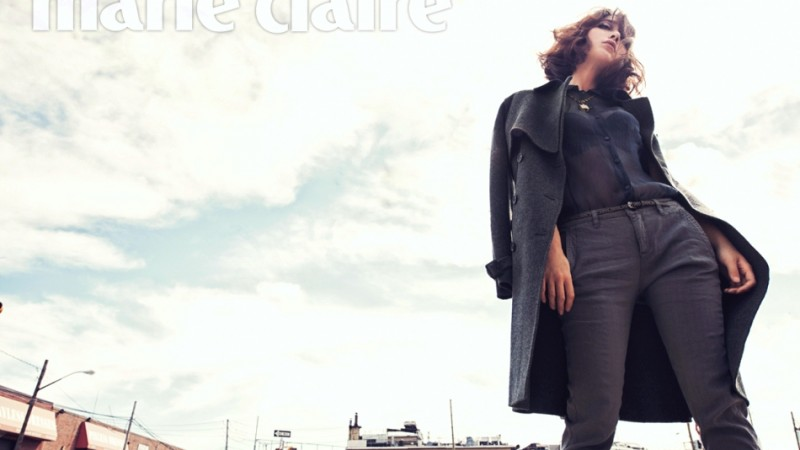 "Lee Min Jung is a Chic New Yorker for ""Marie Claire"""