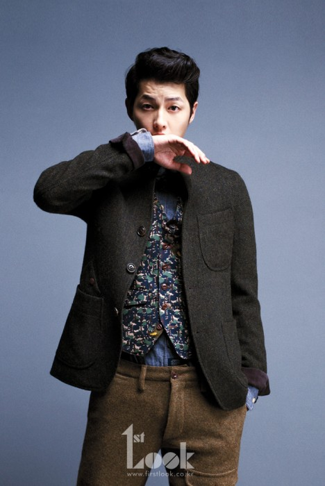 """Nice Guy"" Song Joong Ki Becomes ""Autumn Guy"" for 1st Look"