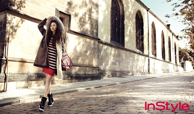 "Lee Yeon Hee Transforms into an ""Autumn Goddess"" for InStyle Magazine"