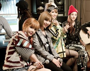 2NE1's Sandara Posts Photograph of 2NE1 in Nagoya, Japan on Me2Day