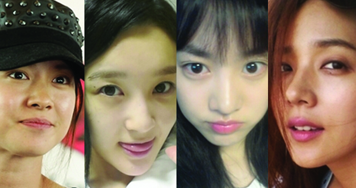 Celebrities: Before and After Makeup
