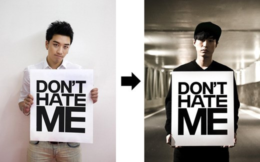"YG's Mysterious ""Don't Hate Me"" Photo is Passed on to Tablo"