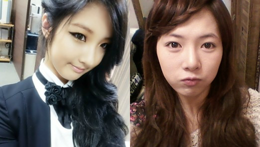 121015 two 4minute selca wide final