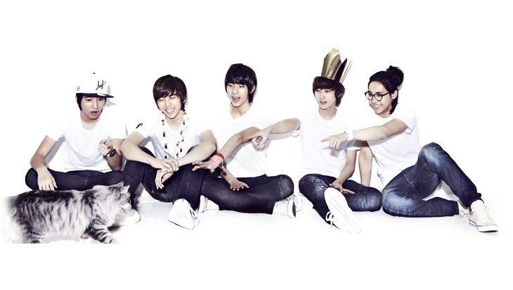 B1A4 Personally Advertises Their Concerts In The Streets of Seoul In Animal Costumes
