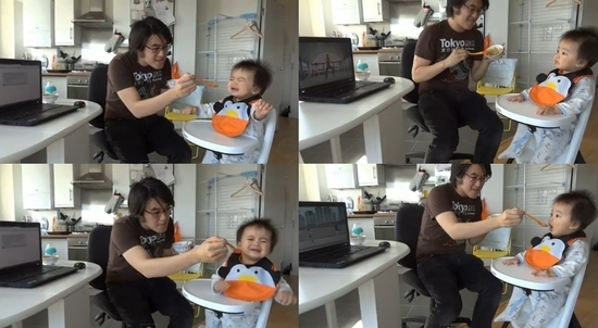 "Baby Who Only Eats When ""Gangnam Style"" is Played?"