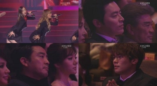 Actors Keep a Straight Face Watching SISTAR Perform
