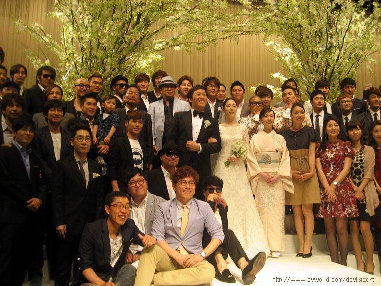 Jung Jun Ha wedding