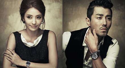 Cha Seung Won and Han Chae Young Look Classy in Latest Pictorial