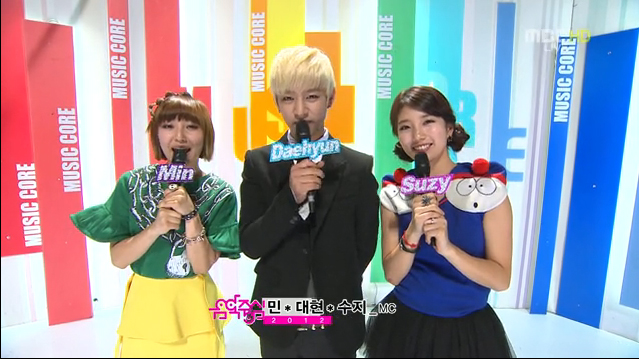 MBC Music Core 11.10.12