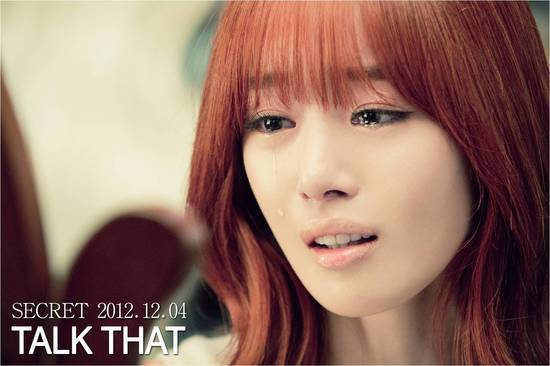 "Han Sun Hwa's Tearful Teaser for ""Talk That"""