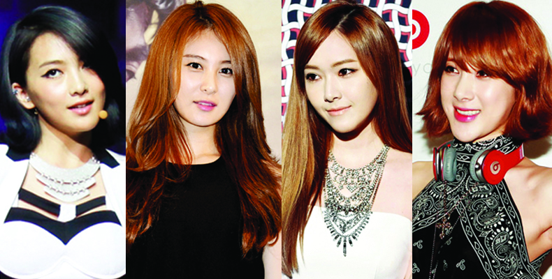[Ceci] Star's Hair Color Recipe ft. Jessica, Kang Ji Young & More!