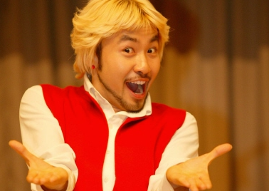 "Fans Beg No Hong Chul to Give ""Gangnam Style"" Pose"