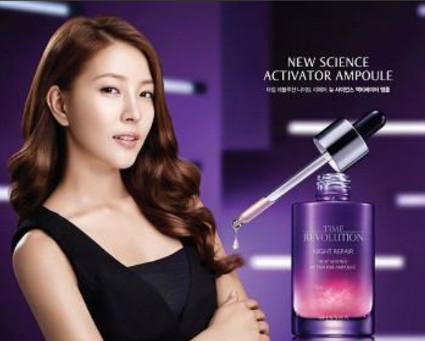 BoA Is a Lavender Goddess at a CF Shoot