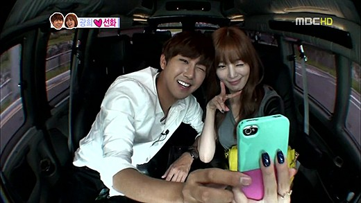 "Sunhwa Surprises Kwanghee with a Big Hug on ""We Got Married"""