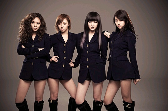 miss A Promotes in Taiwan