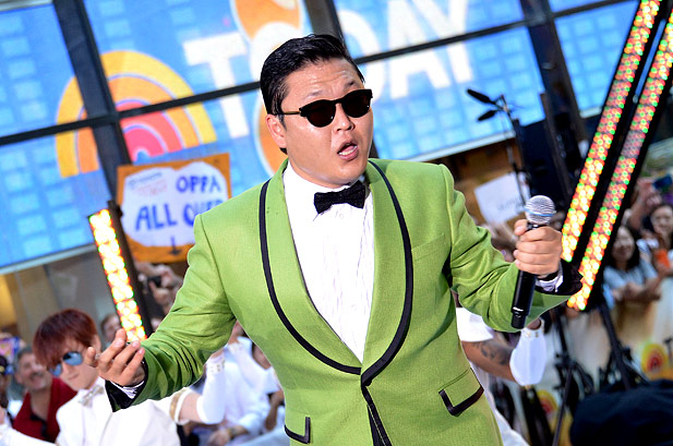 PSY Caught Smoking in a Non-Smoking Zone!