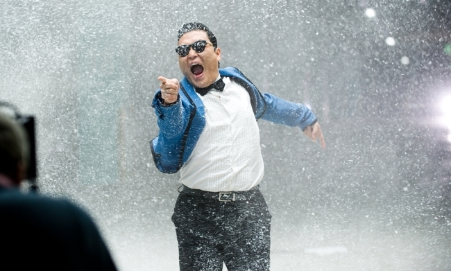 Psy Parodies James Bond