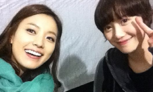 Han Hyo Joo and Goo Hye Sun Prove They're Friends in Selca