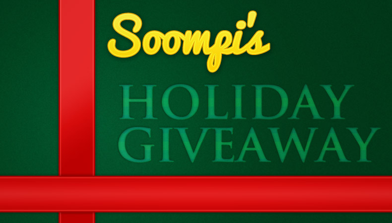 [Exclusive] Soompi Chaego!~ Soompi's Holiday Giveaway!