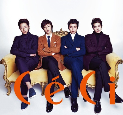 "CNBlue Is Youthful, Chic and Charming for ""Ceci"""