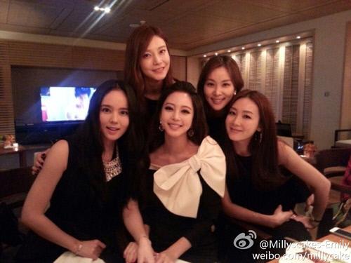 Han Ga In, Han Ye Seul, Choi Ji Woo, Go So Young, and Cha Ye Ryun