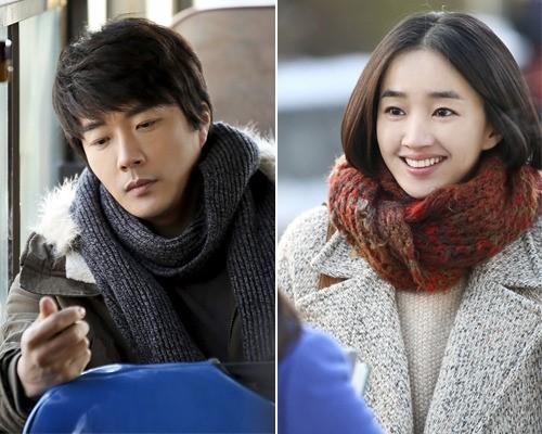 Kwon Sang Woo and Soo Ae