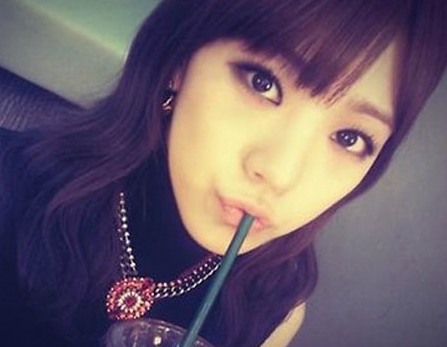 After School's Lizzy Tweets Sexy Smokey Eye Selca