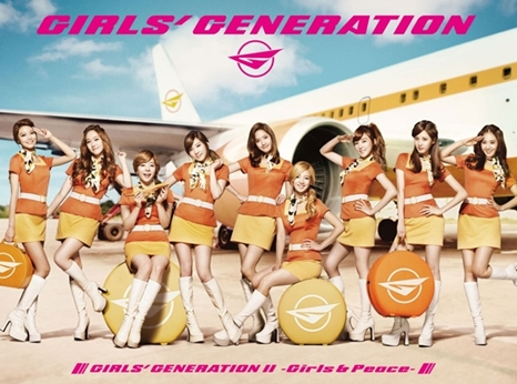 girls' generation girls and peace