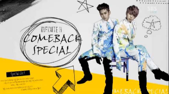 Infinite H Makes Their Inkigayo Debut Performances