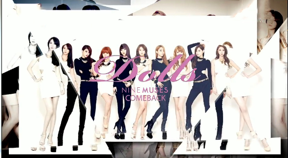 Nine Muses Makes Their Comeback Performances on Music Core