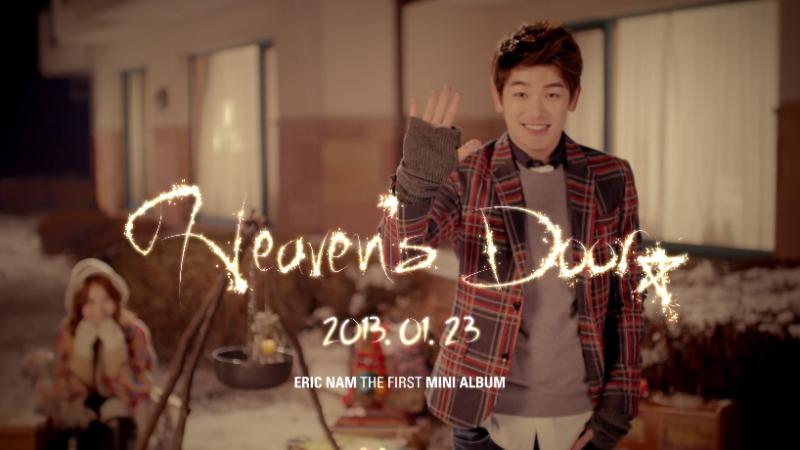 """Eric Nam Releases Teaser Clip For """"Heaven's Door"""""""
