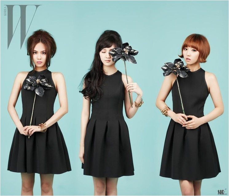 miss A Is Sexy and Dreamy for W Korea!