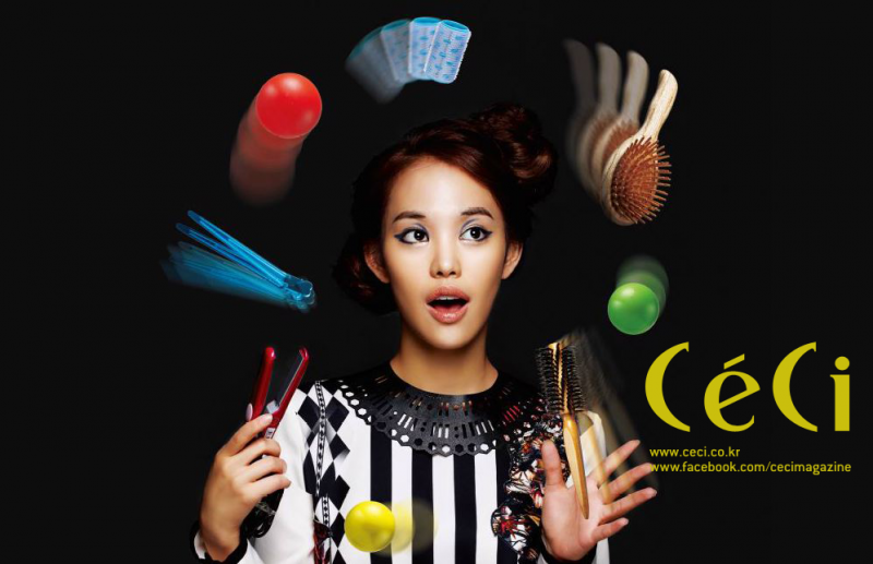 [Ceci] It's Magic! Quick Party Hair Tutorial Part 3: Party Braid Style