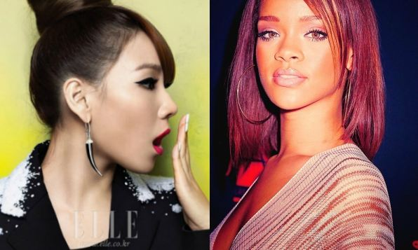 Rihanna Follows CL on Instagram + CL Takes Picture with A$AP Rocky