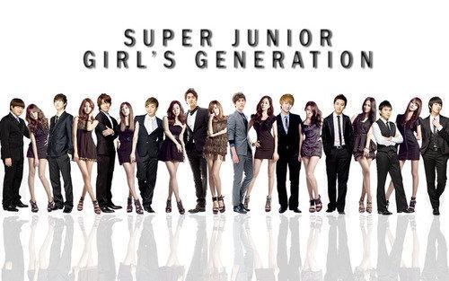 girls generation super junior