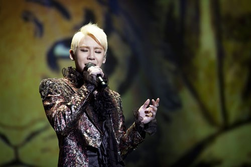 Photos From Junsu's Unbelievable Concert Are Revealed
