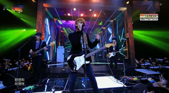 CNBLUE Makes Their Music Core Comeback Performances