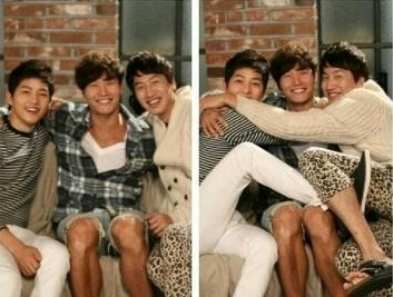 Lee Kwang Soo Shows His Affection for Song Joong Ki