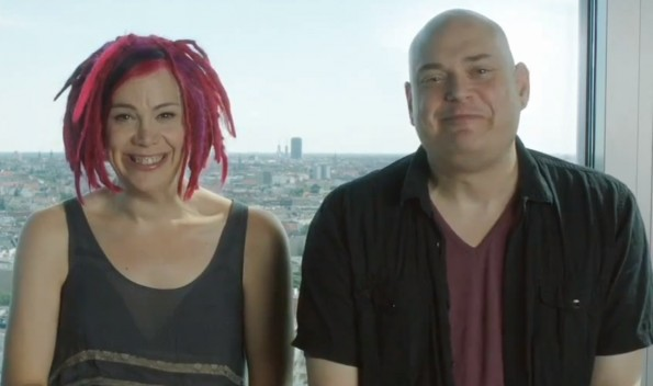 The Wachowskis and Soju!